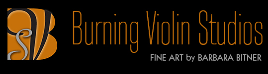 Burning Violin Studios Logo