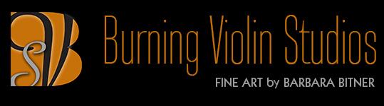 Burning Violin Studios Logo